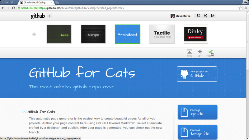 opentechschool hosting static websites with github pages